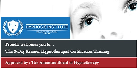 3 Day HYPNOSIS CERTIFICATION tickets