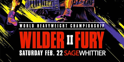 Deontay Wilder vs Tyson Fury II Viewing Party @ Sage