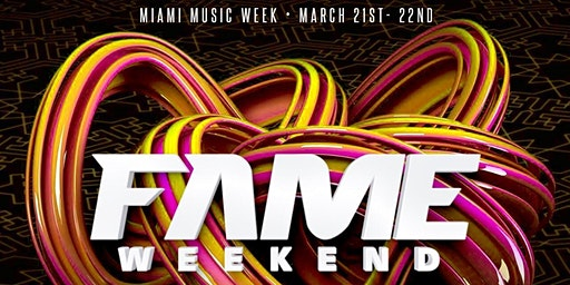 FAME Weekend, Caribbean Music Festival Event Series - Spring 2020