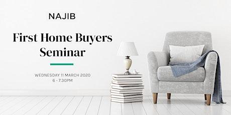 First Home Buyers Seminar tickets