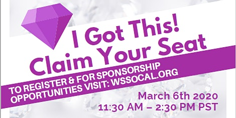 Women's Symposium 2020 - I GOT THIS! Claim Your Seat!