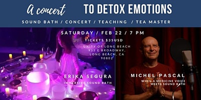 LIE DOWN CONCERT TO DETOX EMOTIONS | LONG BEACH