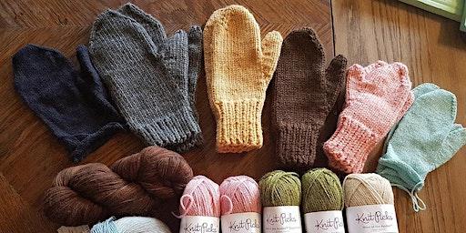 Barter Based Learning Session: Basic Mitten Knitting