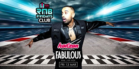 FABULOUS FRIDAYS featuring DJ Horizon Level 3 Nightclubs  Friday 13th March tickets