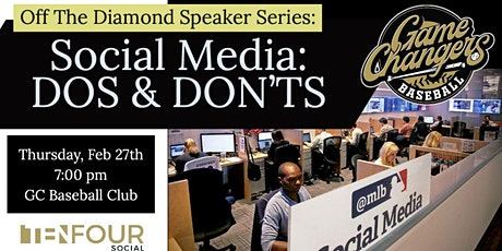Off The Diamond Speaker Series Social Media Dos & Don'ts tickets