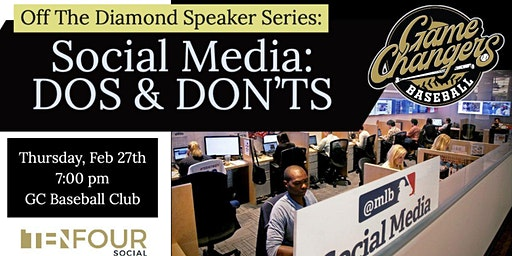 Off The Diamond Speaker Series Social Media Dos & Don'ts