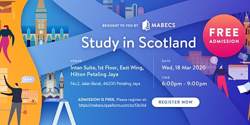 Study in Scotland Postgraduate Fair 2020