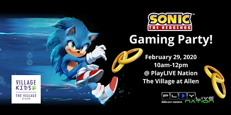 Sonic the Hedgehog Gaming Party tickets