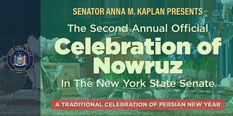 Official Celebration of Nowruz in the New York State Senate tickets