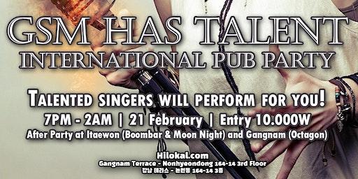 GSM Has Talent! International Pub Party