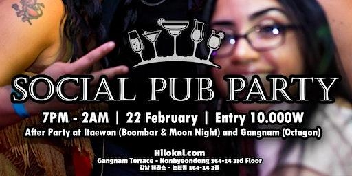 Social Pub Party!