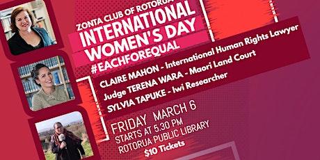 International Women's Day Rotorua tickets