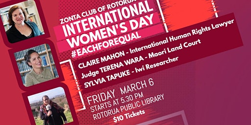 International Women's Day Rotorua