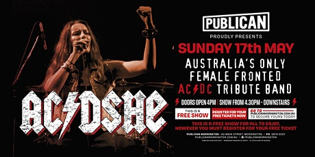 AC/DSHE Australia's only FEMALE fronted AC/DC tribute LIVE at Publican! tickets