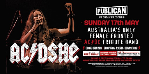 AC/DSHE Australia's only FEMALE fronted AC/DC tribute LIVE at Publican!