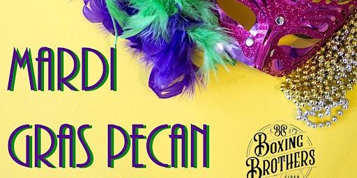 Mardi Gras Pecan Cider Release