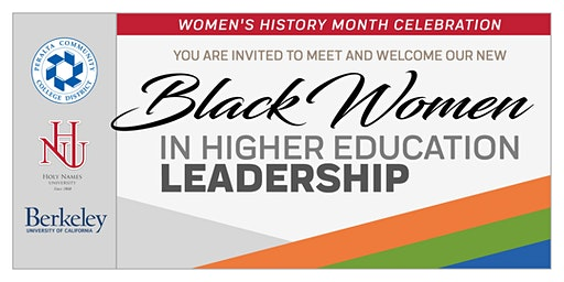 Welcome Black Women in Higher Education Mixer