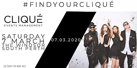 Clique Events Management - The Official Launch tickets