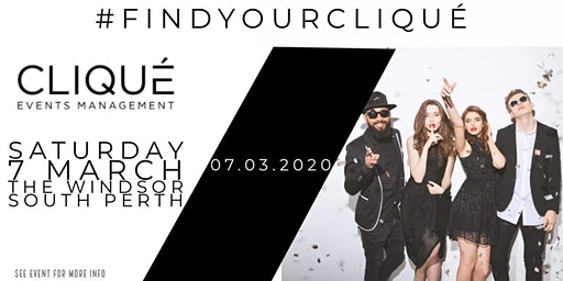Clique Events Management - The Official Launch