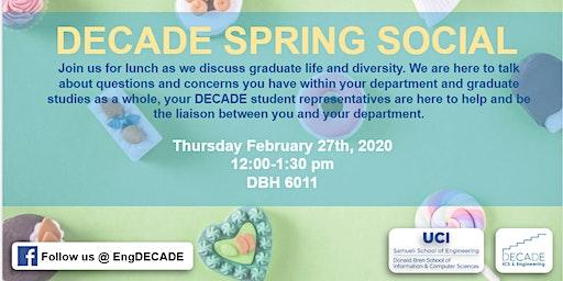 DECADE Spring Social