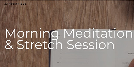 Morning Meditation & Mindfulness Session tickets
