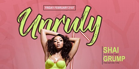Unruly Fridays tickets