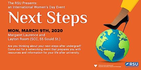 Next Steps- International Women's Day Event tickets
