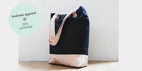 Make Your Eco Tote Bag - 2hr DIY workshop (St Kilda) tickets