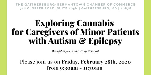 Exploring Cannabis for Caregivers of Minor Patients with Autism & Epilepsy