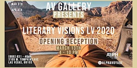 Literary Visions LV 2020 tickets