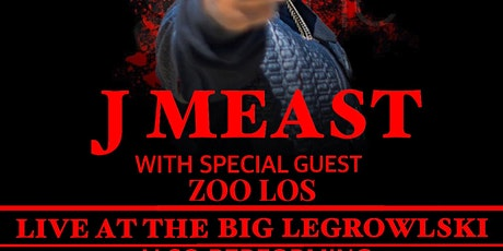 J Meast live in Portland OR at The Big Legrowlski with special guest tickets