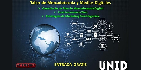Taller de Mercadotecnia y Medios Digitales boletos