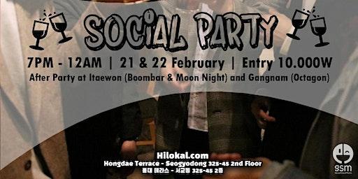 Social Pub Party! (Hongdae)
