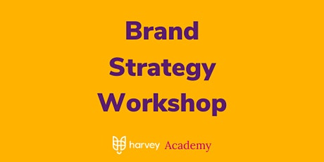 Lean Brand Strategy Workshop tickets