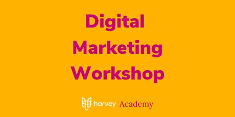 Digital Marketing to Grow Sales and Leads tickets