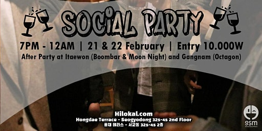 Social Pub Party! (Hongdae)
