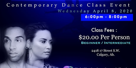 Stone Cold Contemporary Dance Class for Beginner & Intermediate Dancers tickets