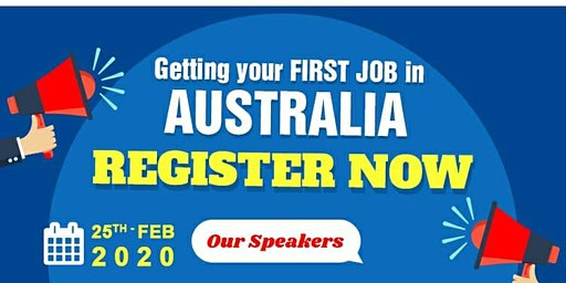 How to get your FIRST JOB IN AUSTRALIA !