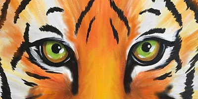 Tiger Paint Party at Brush & Cork
