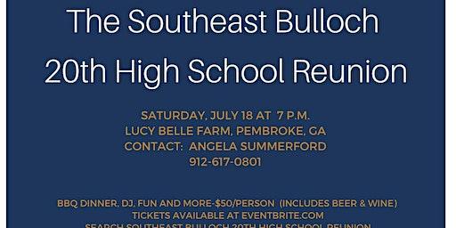 Southeast Bulloch 20th High School Reunion