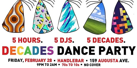 Decades Dance Party tickets