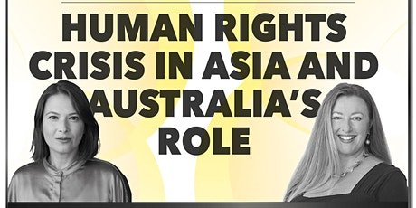 Human Rights Crisis in Asia and Australia's Role tickets
