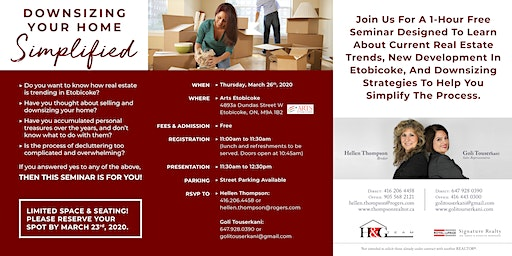 Downsizing Your Home Simplified (Lunch & Learn)