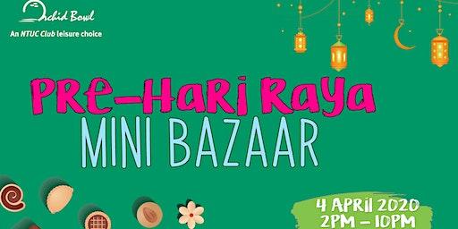 Pre-Hari Raya Mini Bazaar 2020