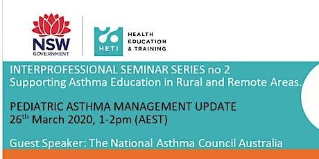 Pediatric Asthma update tickets