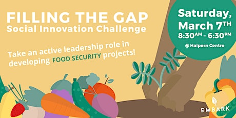 Filling the Gap - Food Security Social Innovation Challenge tickets