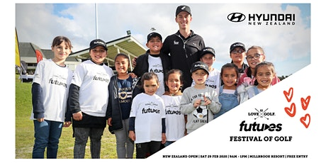 Hyundai NZ Futures Festival of Golf tickets