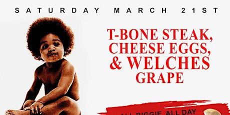 T-BONE STEAK, CHEESE EGGS & WELCH'S GRAPE BRUNCH tickets