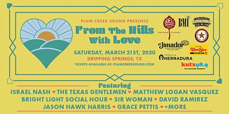 From the Hills with Love 2020 tickets
