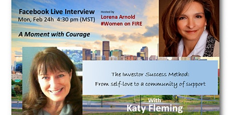 A Moment with Courage - an Interview with Katy Fleming tickets